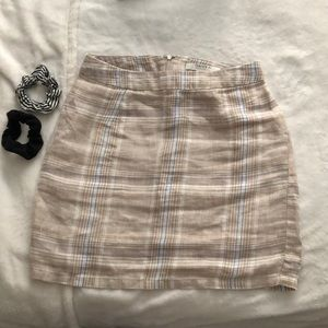 Forever 21 Contemporary Plaid Mini Skirt